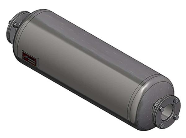 Abgasanlage Preammer Endschalld/ämpfer D/ämpfer